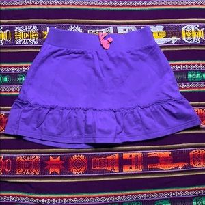 Purple skort for girls